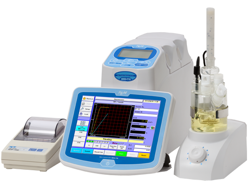 Karl Fischer Moisture Titrator (Coulometric titration)